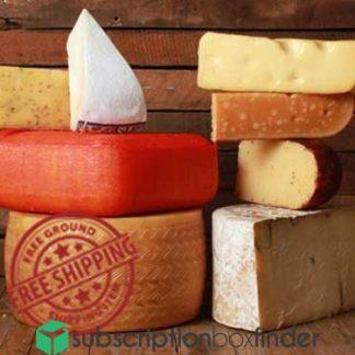 Wisconsin Cheese Mart: Artisan Cheese Club Subscription Box